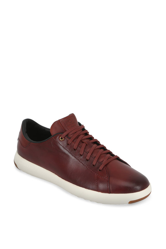 Cole Haan Grandpro Tennis Brick Brunished Leather Sneaker