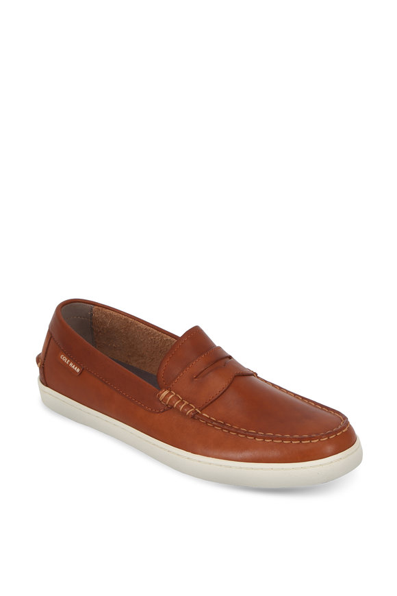 Cole Haan Pinch Weekender British Tan Leather Loafer