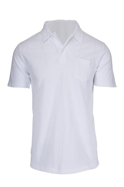 Sunspel - Riviera White Polo