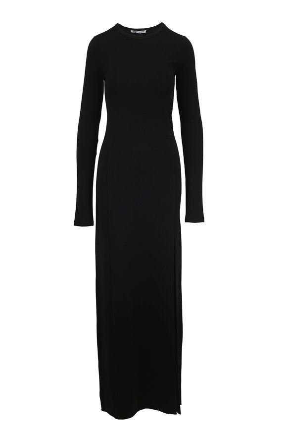 Elizabeth & James Fallon Black Jersey Gown
