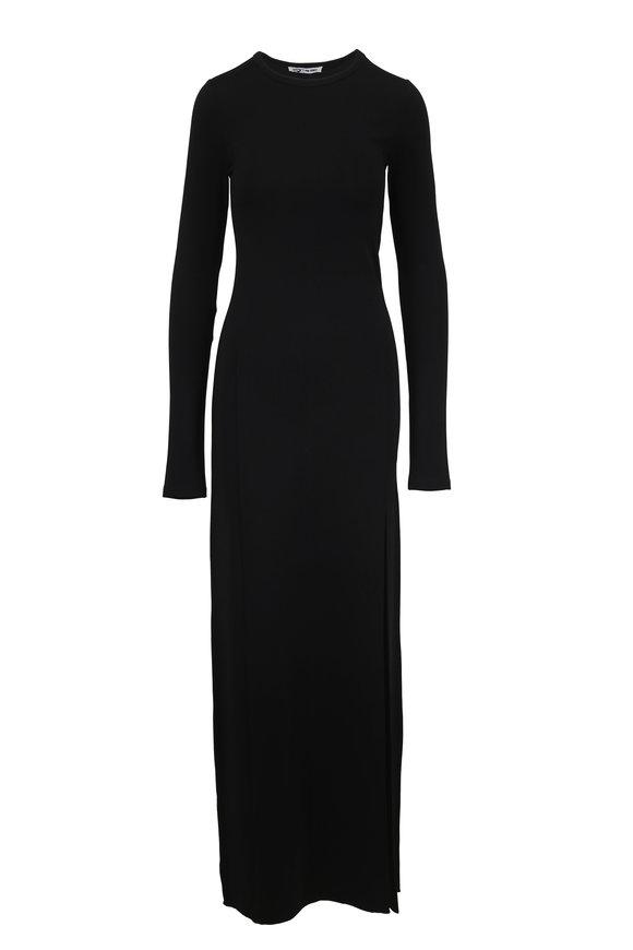 Elizabeth & James Fallon Black Jersey Gown