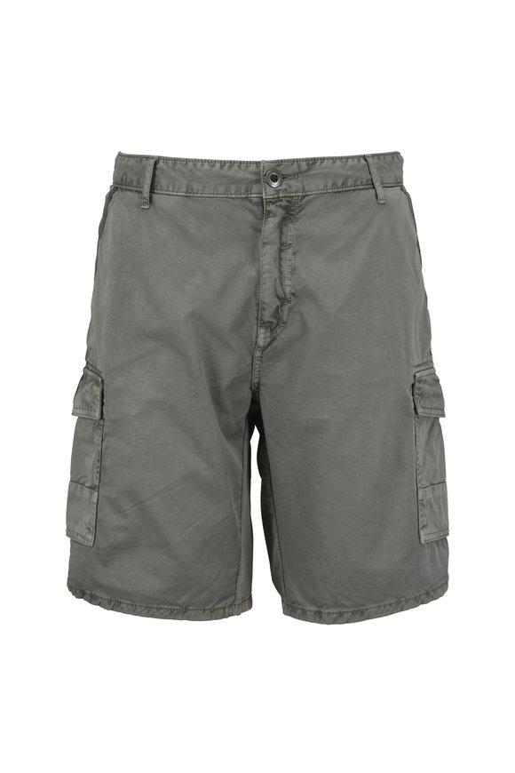 Original Paperbacks Newport Olive Green Cargo Shorts