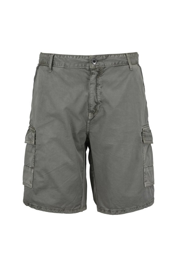Original Paperbacks Newport Olive Green Cargo Shorts