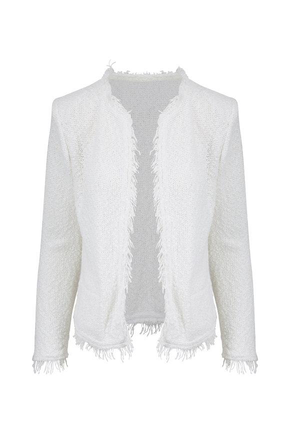 IRO Shavani Ecru Boucle Jacket