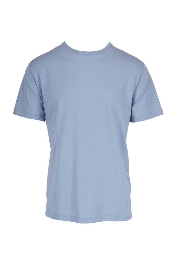 Handvaerk Dusty Blue Crew T-Shirt