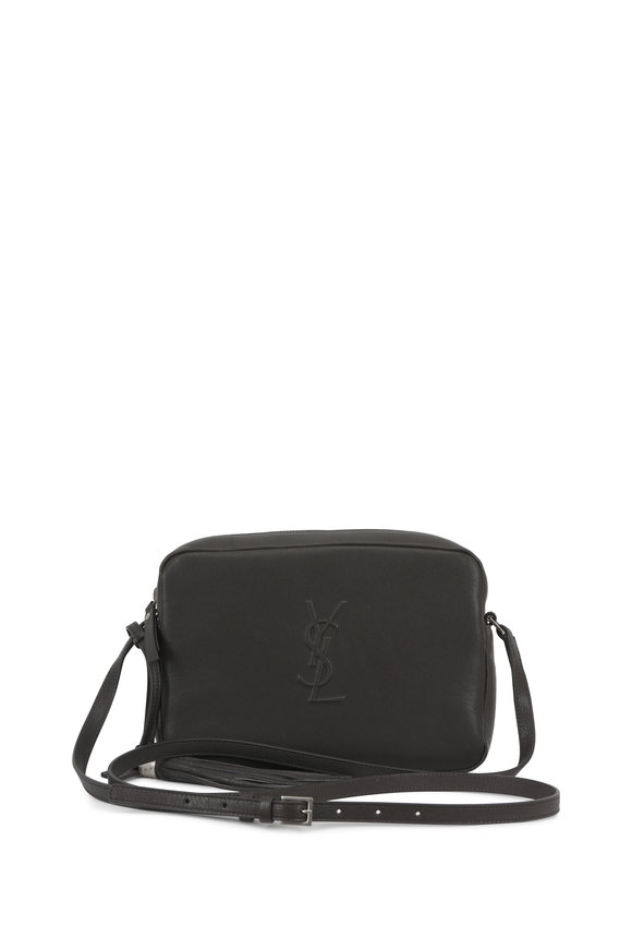 Saint Laurent Lou Monogram Asfalt Leather Blogger Crossbody