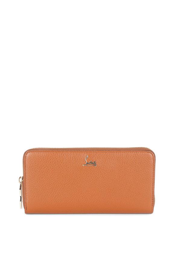 Christian Louboutin Panettone Tan Leather Wallet