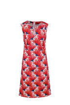 Bogner - Jenny Red Flower Print Dress