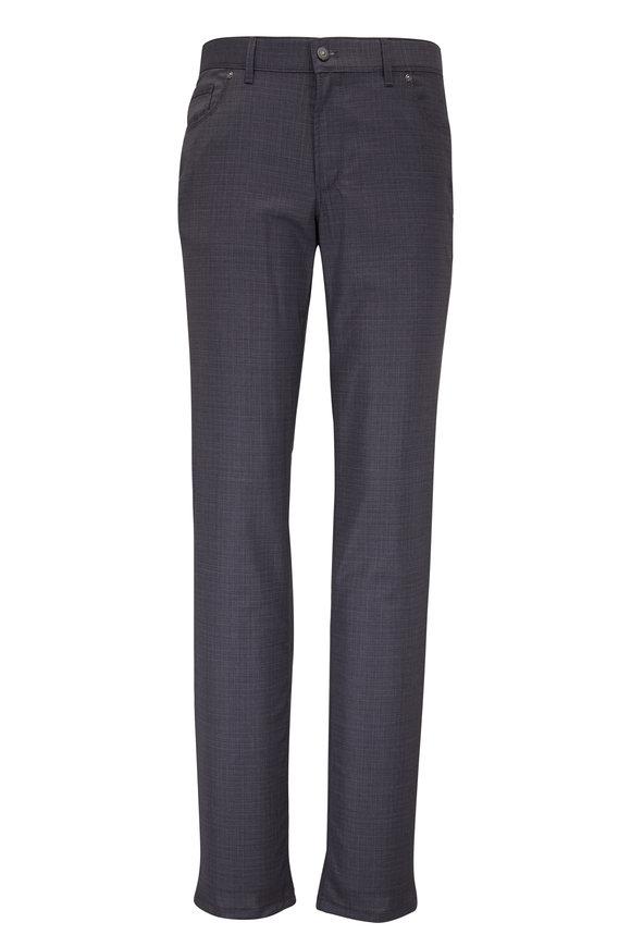 Hiltl Kent Gray Wool Five Pocket Pant