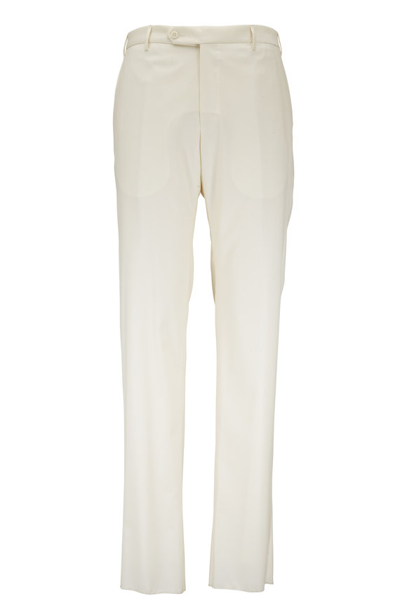 Zanella Parker Cream Wool Pant