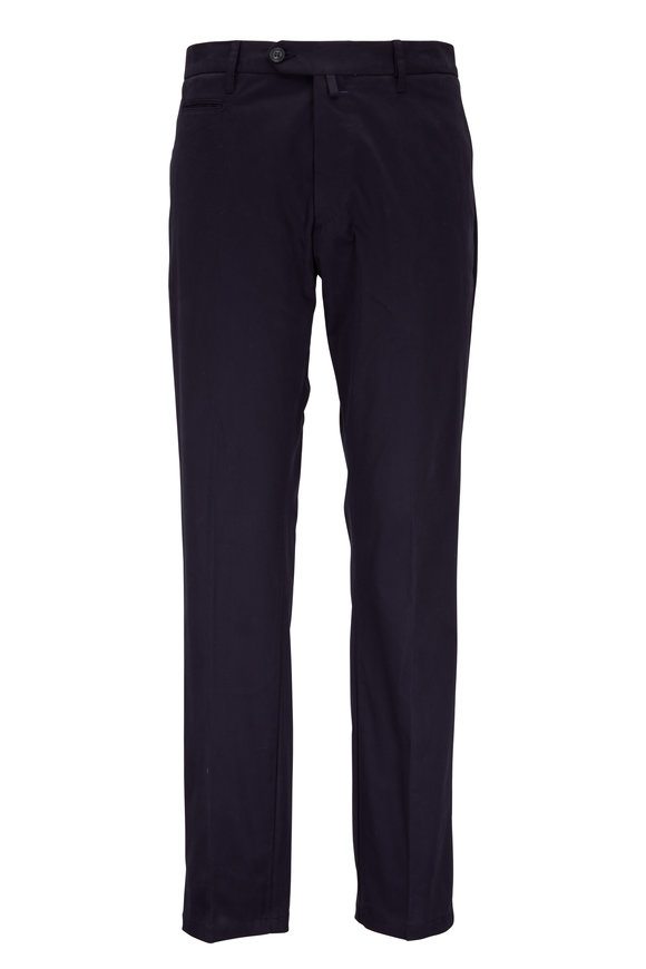 J.W. Brine Johan Navy Cotton Pant