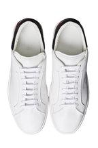 Berluti - Burano Outline White & Brown Leather Sneaker