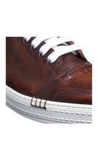 Berluti - Playtime Palermo Cognac Brown Leather Sneaker