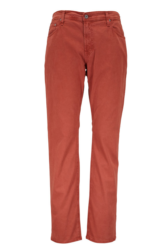 AG - Adriano Goldschmied The Graduate Red Tailored Pant