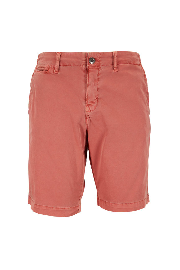 Original Paperbacks Manhattan Persimmon Cotton Shorts