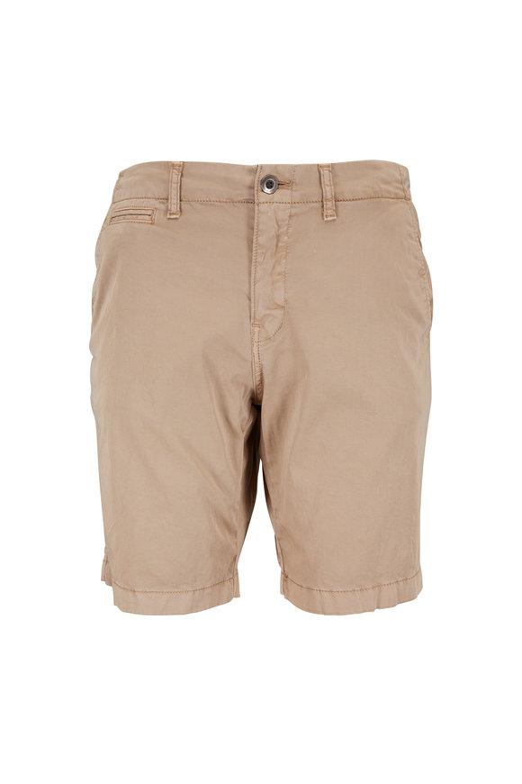 Original Paperbacks Manhattan Khaki Cotton Shorts