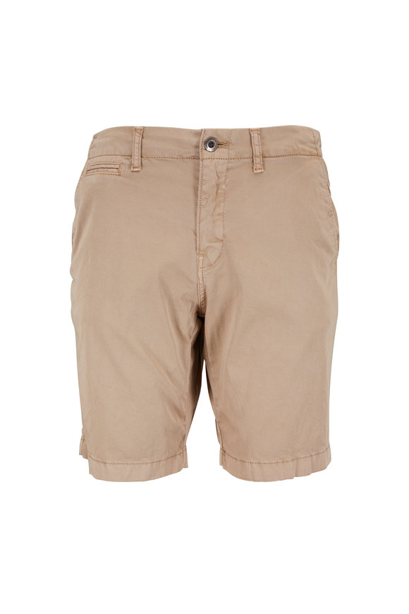 Original Paperbacks Manhattan Khaki Cotton Shorts
