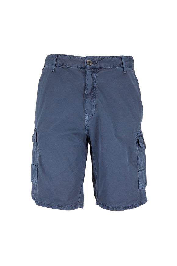 Original Paperbacks Newport Slate Blue Cargo Shorts