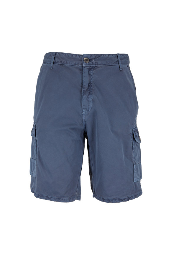 Original Paperbacks Newport Slate Blue Cargo Shorts