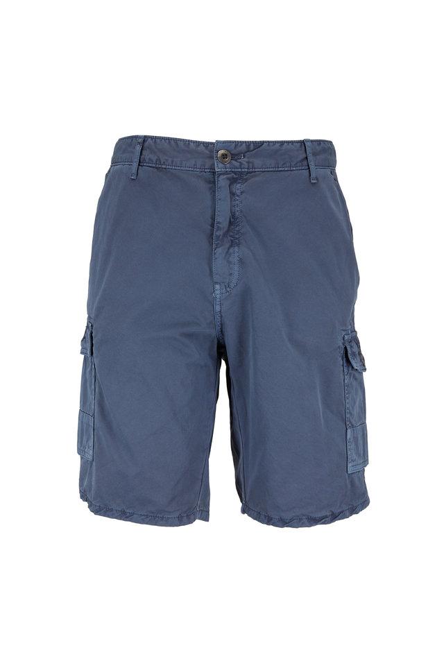 Newport Slate Blue Cargo Shorts