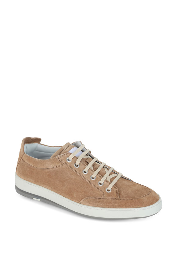 Heschung Travel Tobacco Suede Sneaker