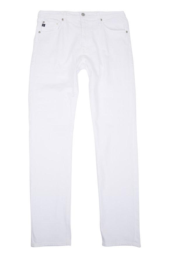 AG - Adriano Goldschmied The Everett White Slim Straight Jean