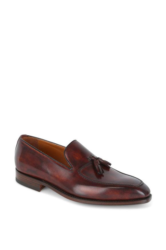 Bontoni Giovanni Wood Leather Loafer