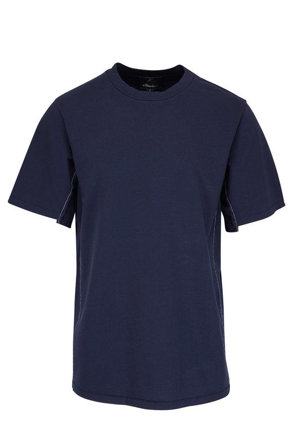 3.1 Phillip Lim Midnight Reconstructed T-Shirt