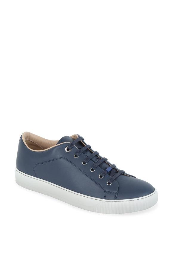 Lanvin Navy Blue Low-Top Sneaker