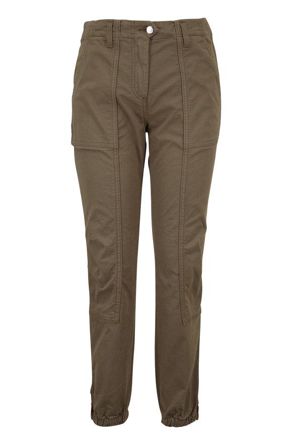 Veronica Beard Field Army Green Cargo Pant