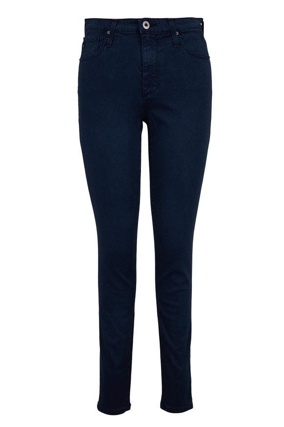 AG - Adriano Goldschmied Farrah Navy High-Rise Skinny Jean