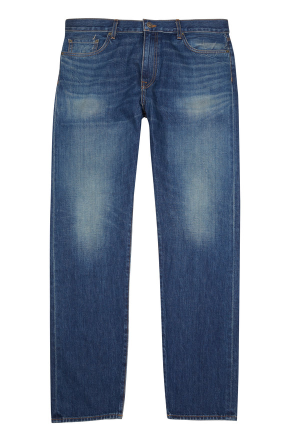 Baldwin Henley Slim Straight Medium Rinse Jean