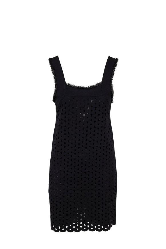 Derek Lam Black Knit Cami Dress