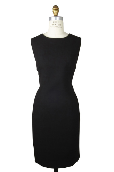 Kiton - Sleeveless Wool Crepe Dress