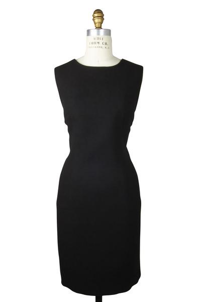 Kiton - Sleeveless Wool Crepe Dress