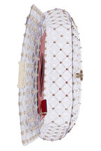 Valentino Garavani - Rockstud Clear PVC Medium Shoulder Bag