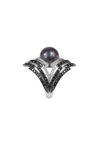Stephen Webster - 18K White Gold Pearl Lady Stardust Ring