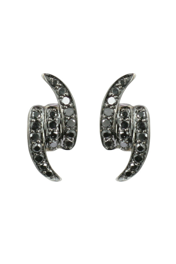 Stephen Webster 18K White Gold Forget Me Knot Stud Earrings