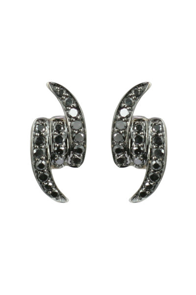 Stephen Webster - 18K White Gold Forget Me Knot Stud Earrings