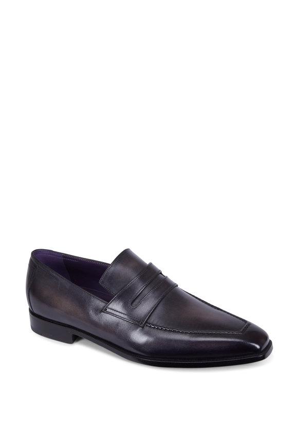 Berluti Andy Démesure Black Leather Loafer