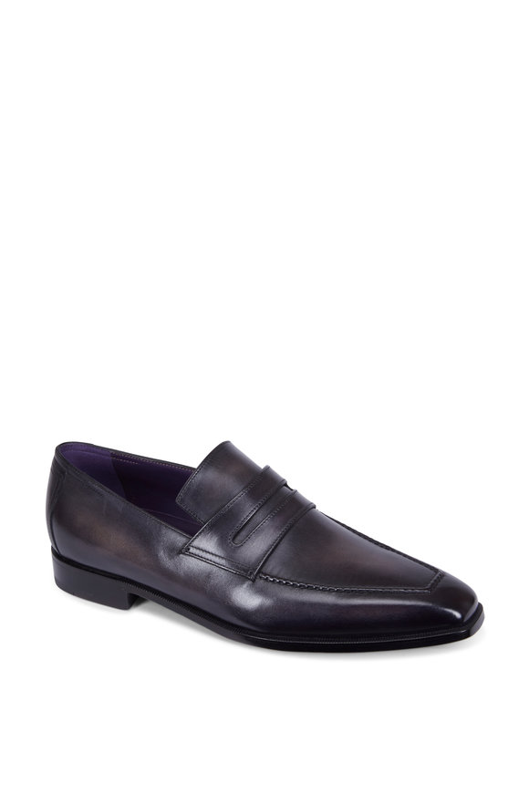 Berluti Andy Démesure Black Leather Loafer