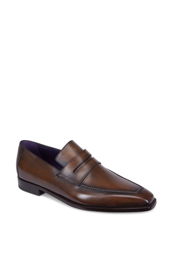 Berluti Andy Démesure Dark Brown Leather Loafer