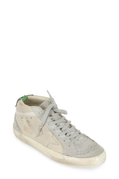 Golden Goose - Women's Midstar White Leather Sneaker