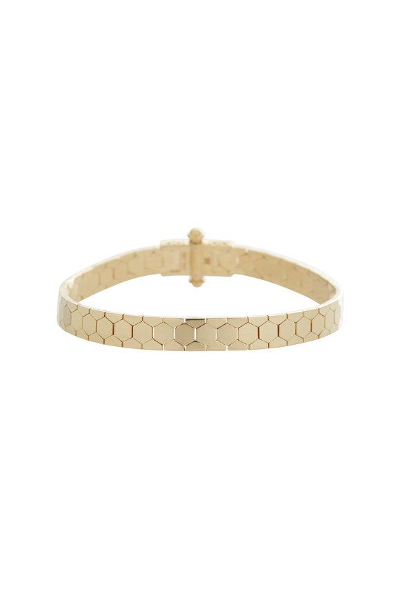 Alberto Milani 18K Yellow Gold Castello Bracelet