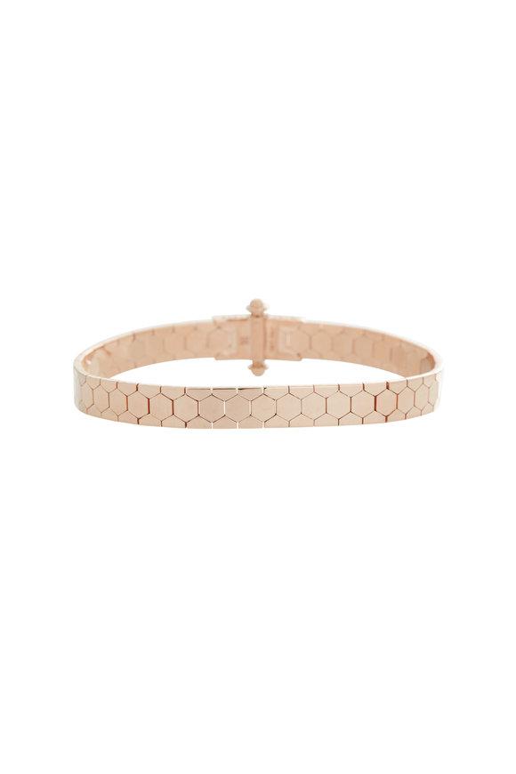 Alberto Milani 18K Rose Gold Castello Bracelet