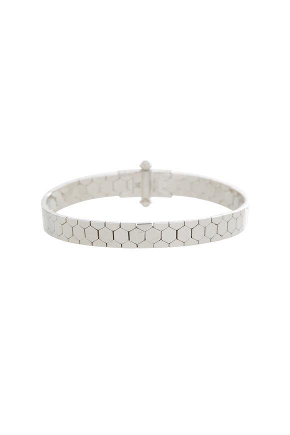 Alberto Milani 18K White Gold Castello Bracelet