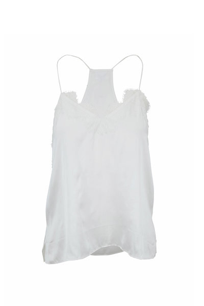 Cami NYC - Butter Charmeuse Racer Tank
