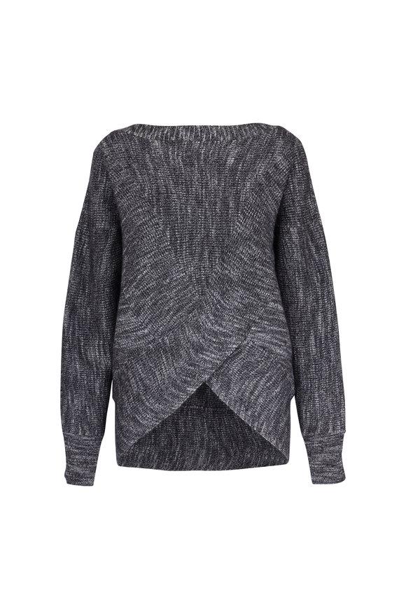 Brochu Walker Blanca Black Onyx Cashmere & Wool Sweater