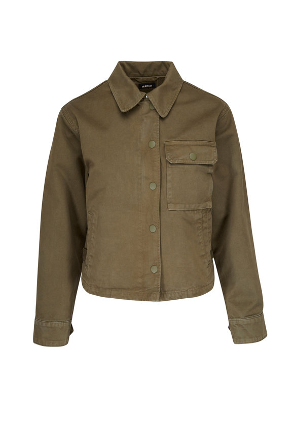 Hudson Clothing Route Field Olive Green Jacket