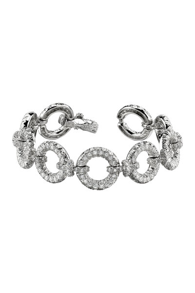 Aaron Henry - 18K White Gold Diamond Bracelet